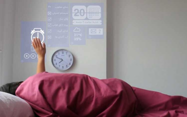 افزایش رفاه در خانه هوشمند لوکسین